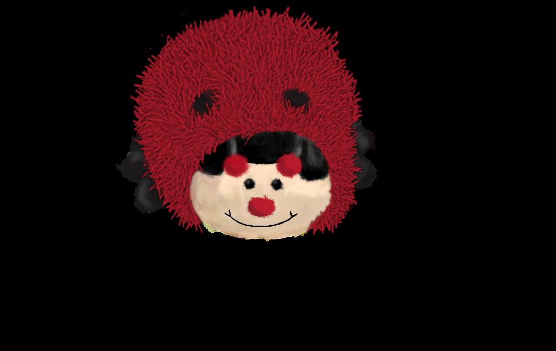 Fuzzy Ladybug by ewm