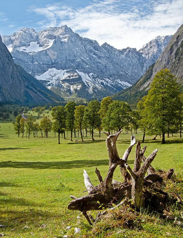 Ahornboden - dreamy landscape by Springstein