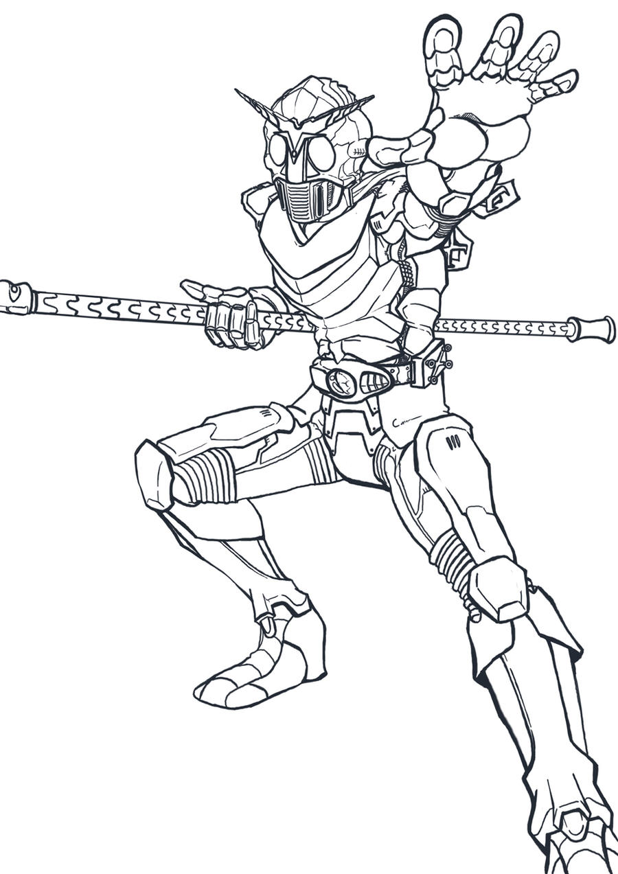 kamen rider coloring pages - photo#18