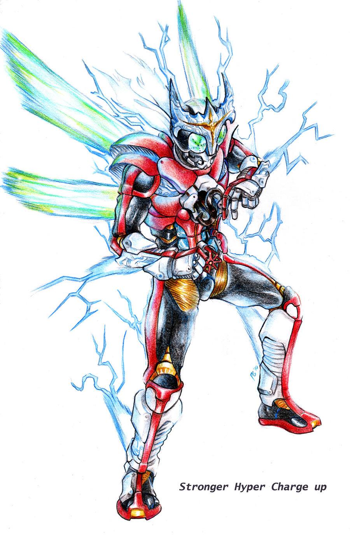 Kamen Rider Kabuto Hyper Form Alter  kr stronger hyper formKamen Rider Kabuto Hyper Form