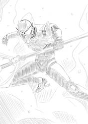 Free Sketch 1#: Strider by PeaceGuy