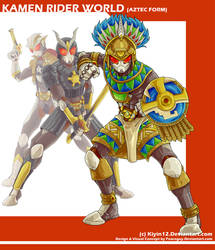 COMM Kamen Rider World - Aztec Form
