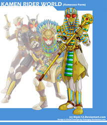 COMM Kamen Rider World - Ramesses Form