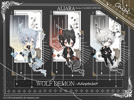 ADOPTABLE WOLF DEMON - ALIARA (0/3) OPEN by ALIARAadoptable