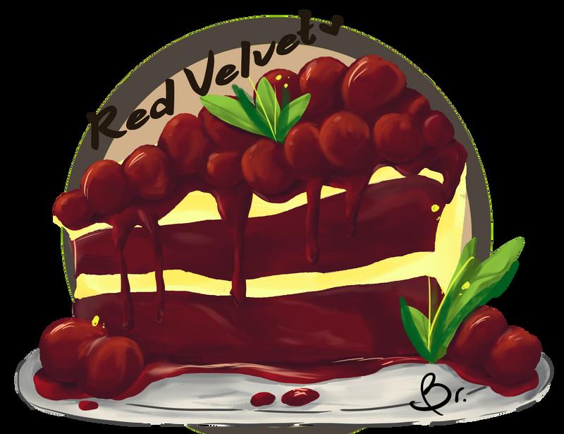 Red Velvet Cheesecake by briellaruu