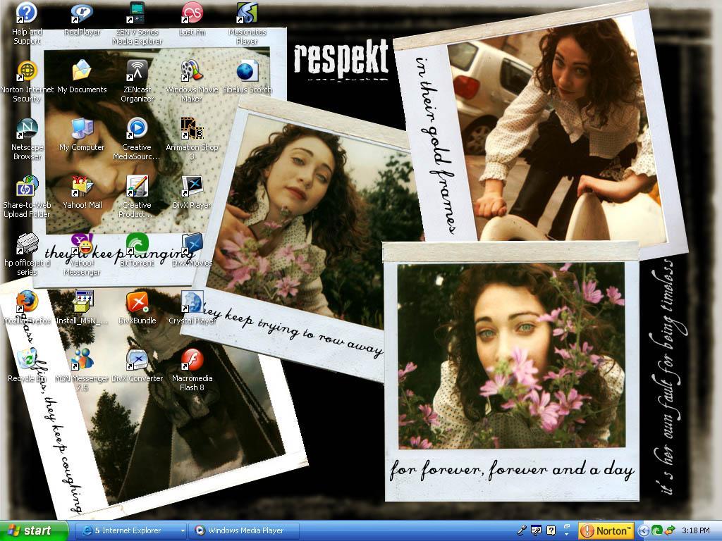 Regina Spektor Desktop :D by tsunade487