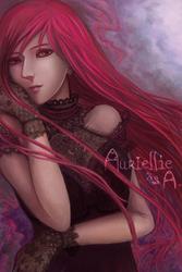 Portrait - Auriellie by font-street