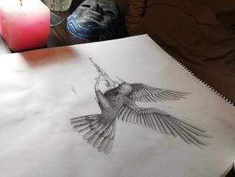 Badass Crow