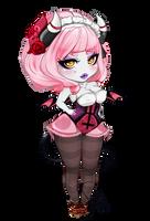 Lady-Bull Demon by LadyFawn