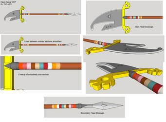 Hawk Spear WIP 1