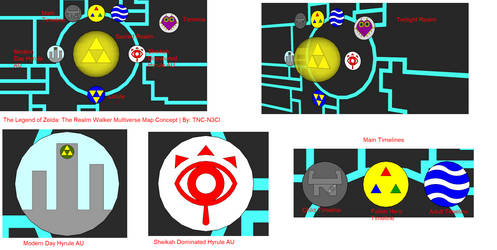 LOZ: The Realm Walker Multiverse Concept WIP