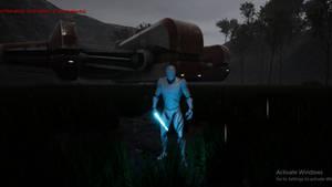 Dxun Landing KOTOR 2 Remastered