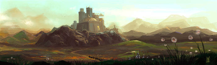 one of many castles by speedtribes