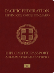 Insular Empire of the Pacific Diplomatic Passport by Manalinger