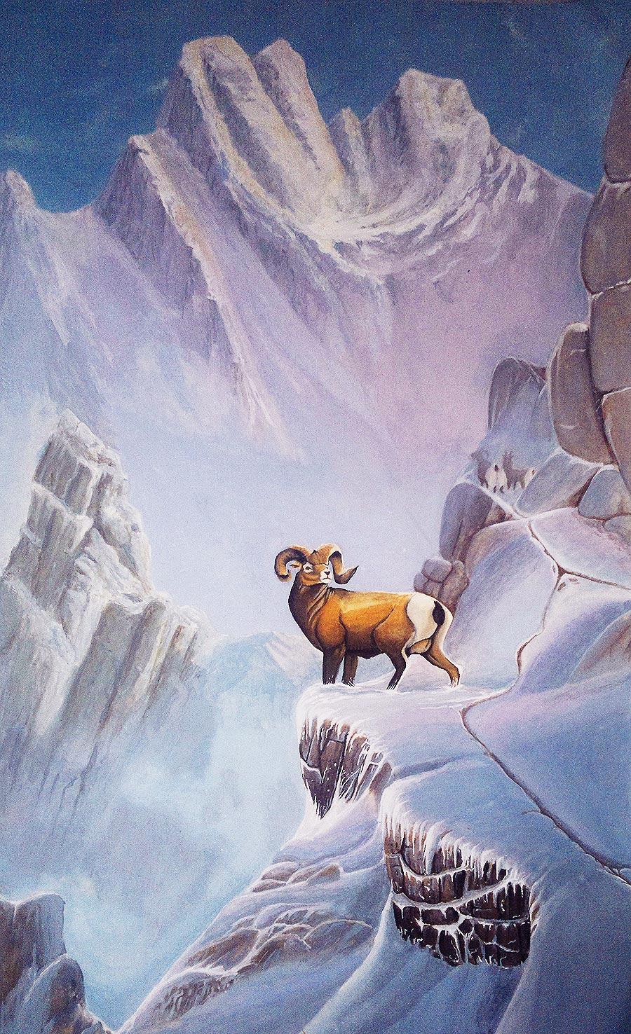 Ted Blaylock Bighorn Hideaway Fan Art by daniellongato