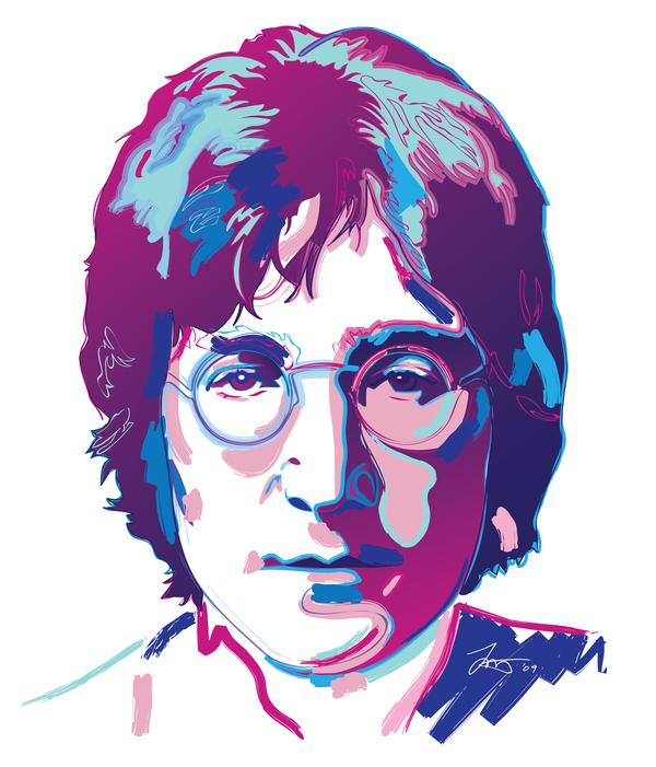 John Lennon by murtaghj