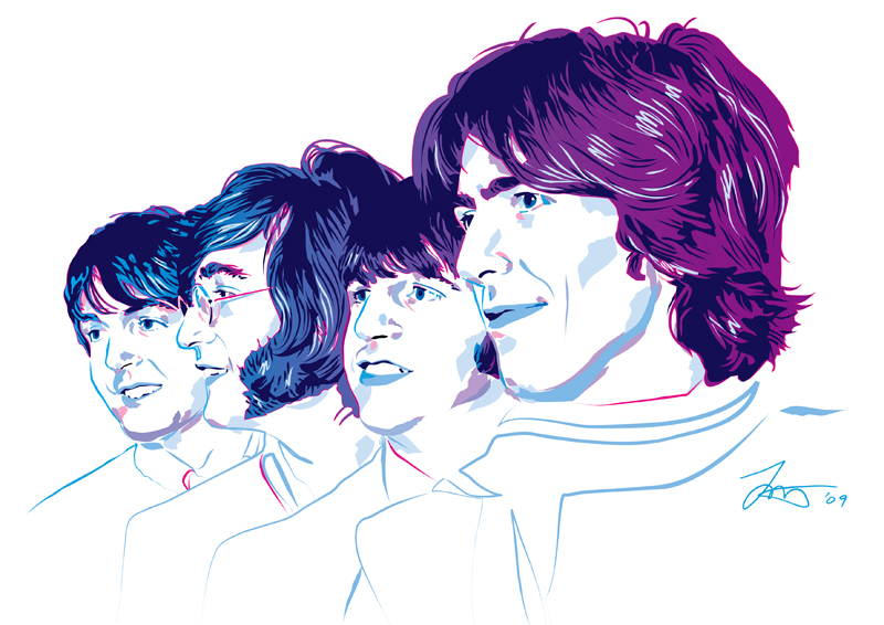 The Beatles by murtaghj