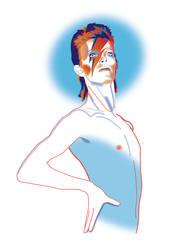 Ziggy Stardust by murtaghj