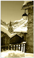 Winter in the Alpes