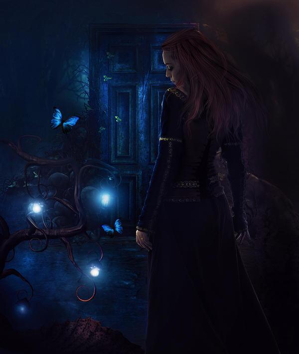 Enchanted Entrance by llamacria