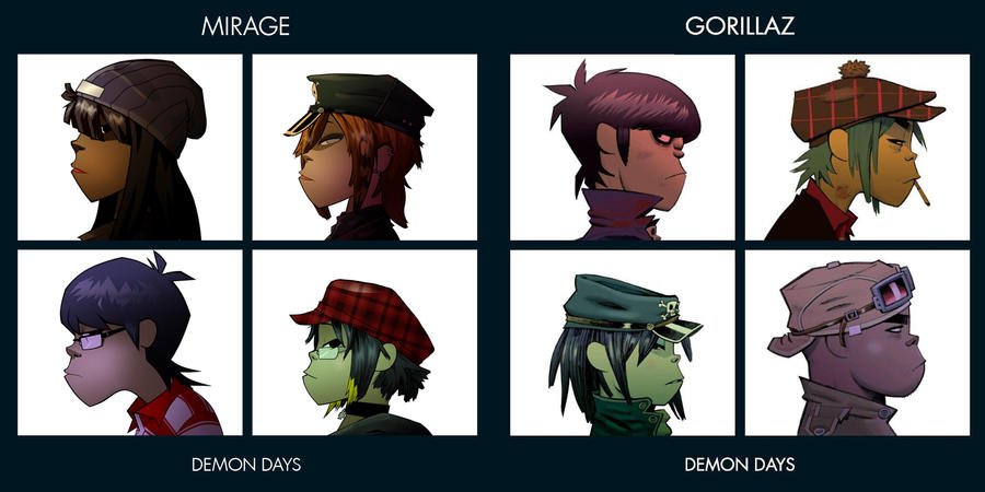Gorillaz Wallpaper Demon Days Wallpaper Directory