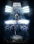 Wwe wrestlemania 28 Poster ( undertaker vs hhh )