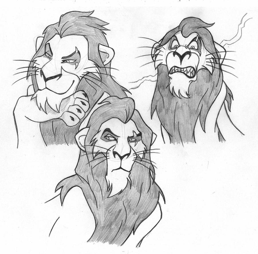 Uncategorized Lion King Sketch scar from the lion king pencil sketch by giorgio amatteis on amatteis