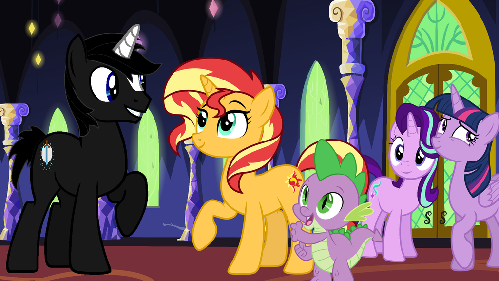 Reunited Once Again (Happy Sunset Shimmer Day) by Tyler3967