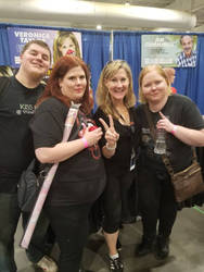 Meeting Veronica Taylor
