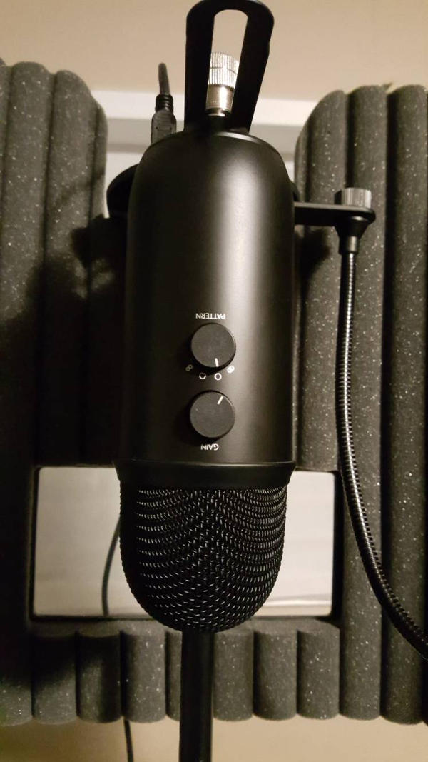 New Mic (Blue Yeti Blackout)