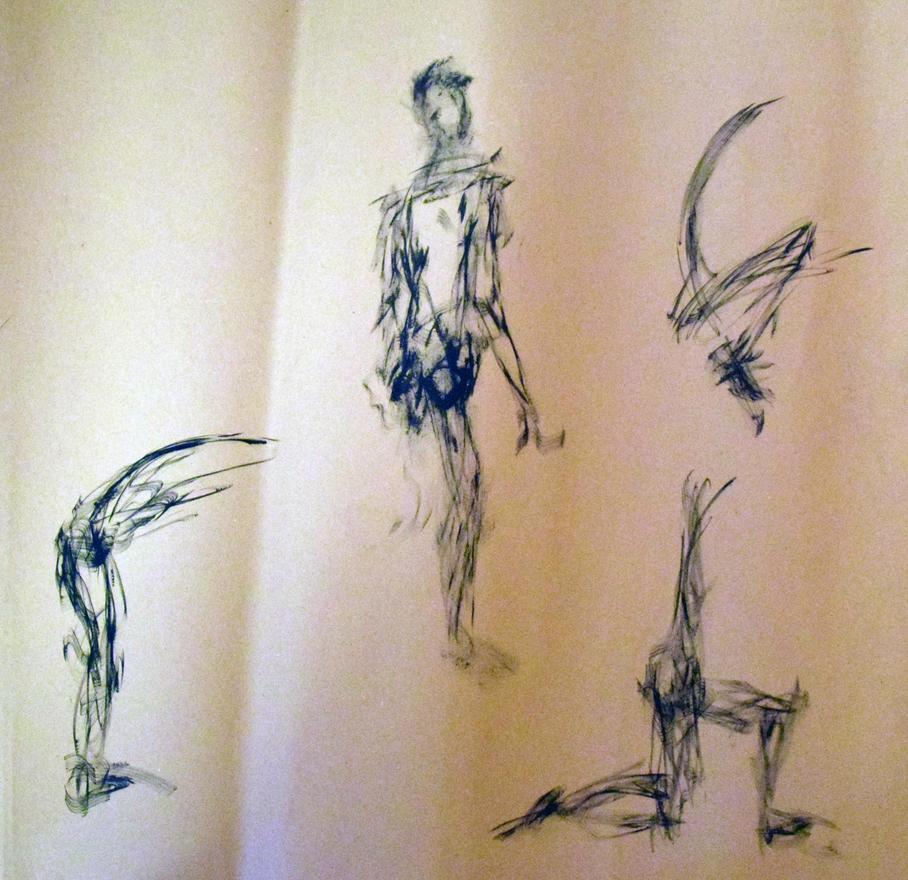 Sketches by Galdrasmidr