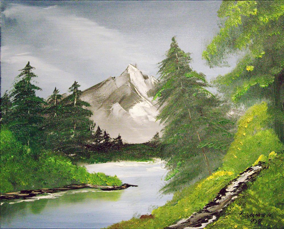 Landscape / Landschaft 1 by Galdrasmidr