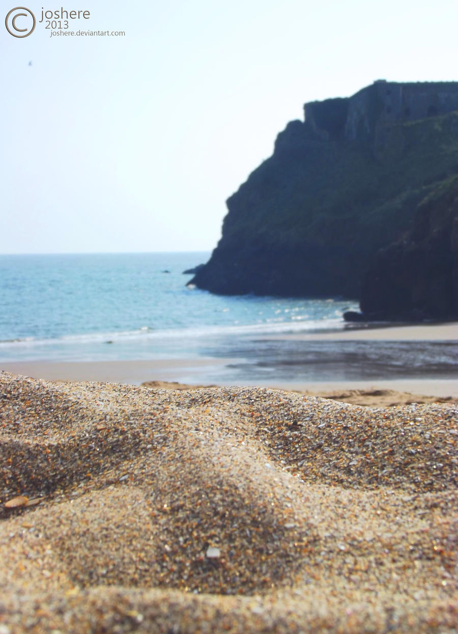 Tenby - Beach Shot 1 (Edited) by =joshere