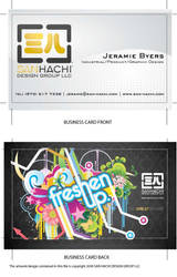 New Business Card by wuzCraCCin
