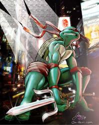 Gritty City Ninja by wuzCraCCin