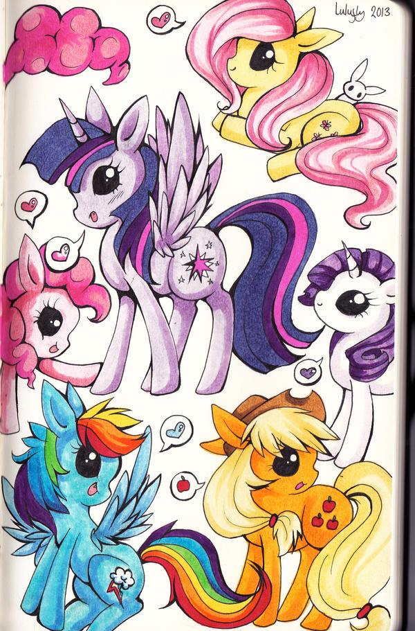 friendship is magic by lulu-fly