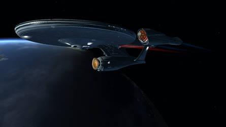 Entering Orbit by Captain-JimFive