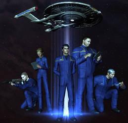 NX Andromeda Crew by Captain-JimFive