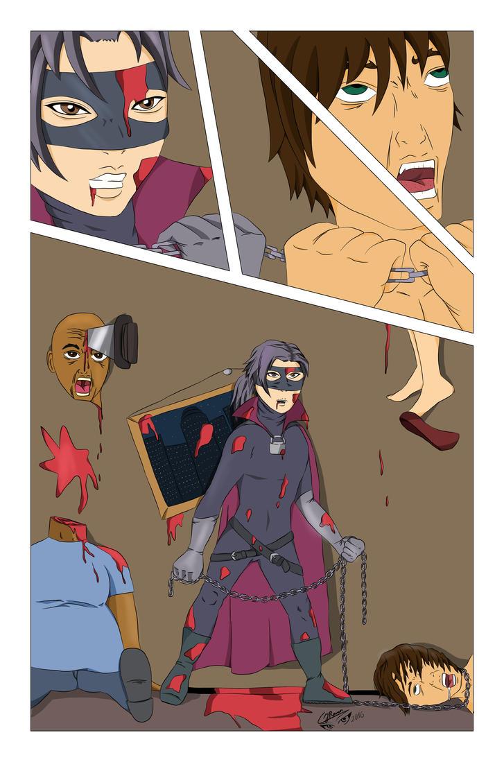 Hit Girl Comic Color Test by CJRamosArt