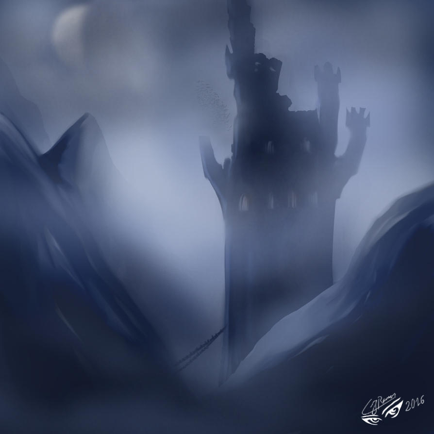 Castle by CJRamosArt