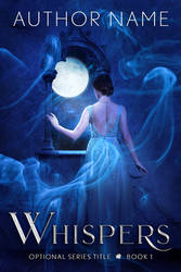 Whispers (Premade Book Cover)