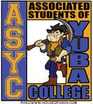 Yuba College ASYC with Dusty Niner Logo by HouseOfHaHa