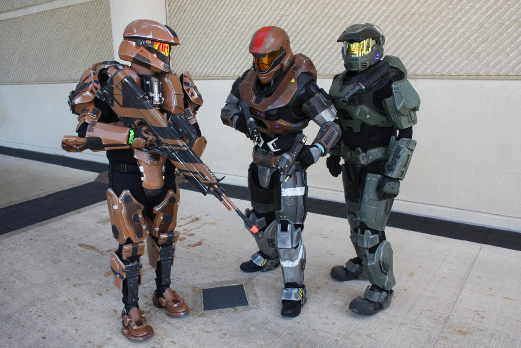 Meagcon 2013: Halo by pgw-Chaos