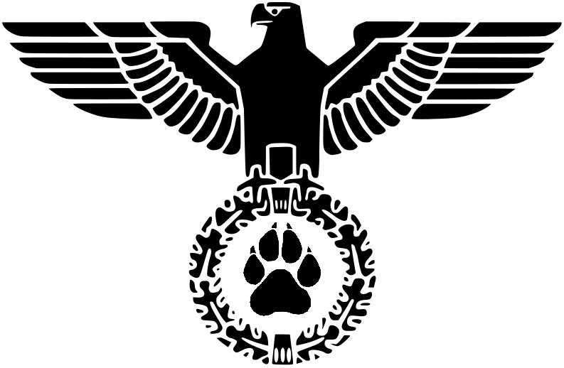 German ww2 Furry symbol by hilliard