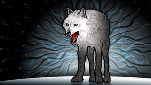Wolf in state of confusion