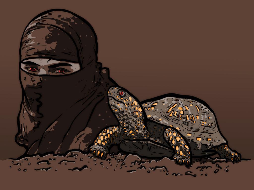 Ninja and turtle