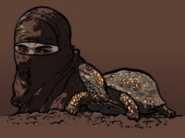 Ninja and turtle by Jasper-M