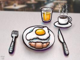 Word 059 - Breakfast by Jasper-M