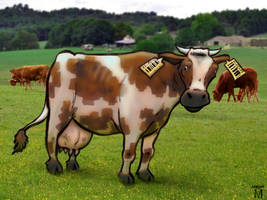 Cow (word no. 112) by Jasper-M