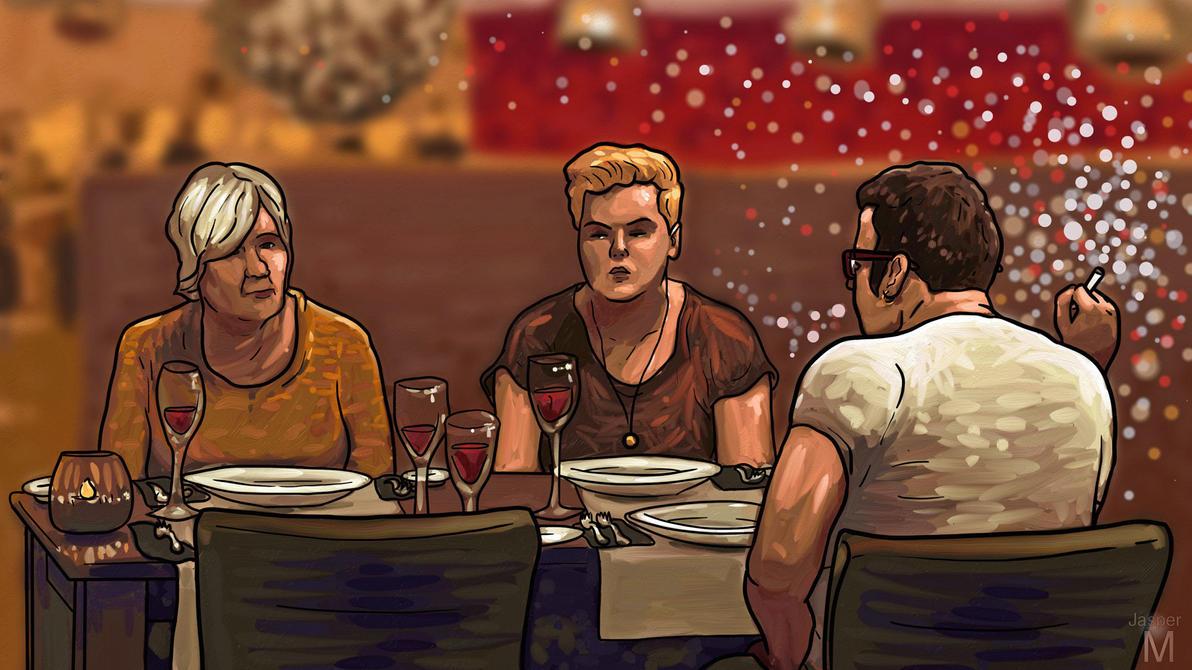 Dramatic Dinner by Jasper-M